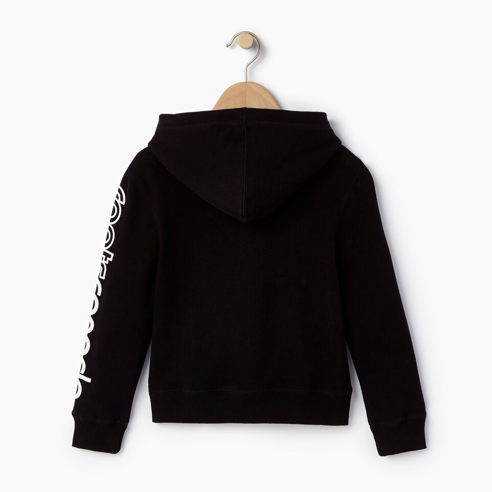 Roots-Kids Our Favourite New Arrivals-Girls Peleton Kanga Hoody-Black-B