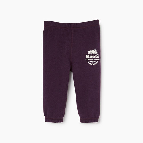 Roots-Clearance Baby-Baby Laurel Sweatpant-Blackberry Mix-A