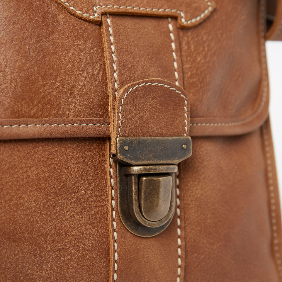 Roots-Leather  Handcrafted By Us Collections-Grad School-Natural-D