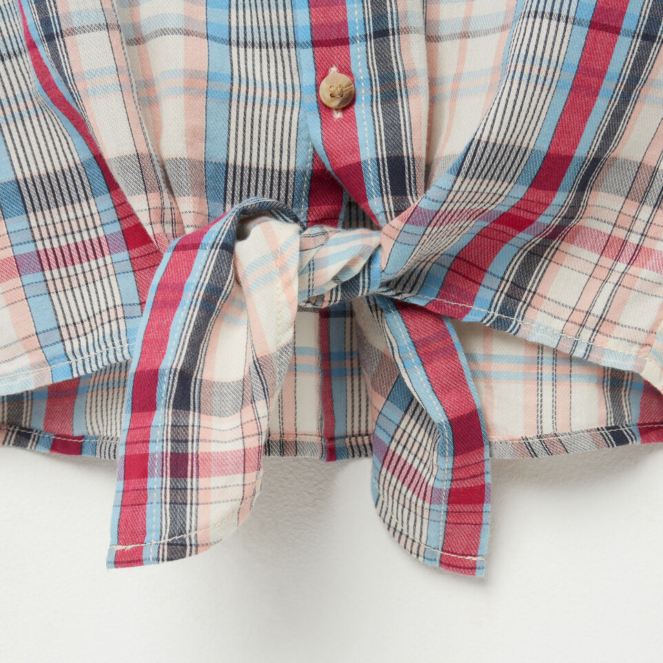 Roots-undefined-Girls Tie Shirt-undefined-E