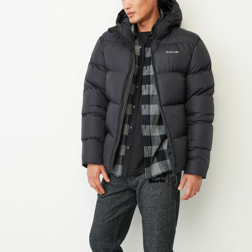 Roots-Men Outerwear-Peakside Parka-Black-A