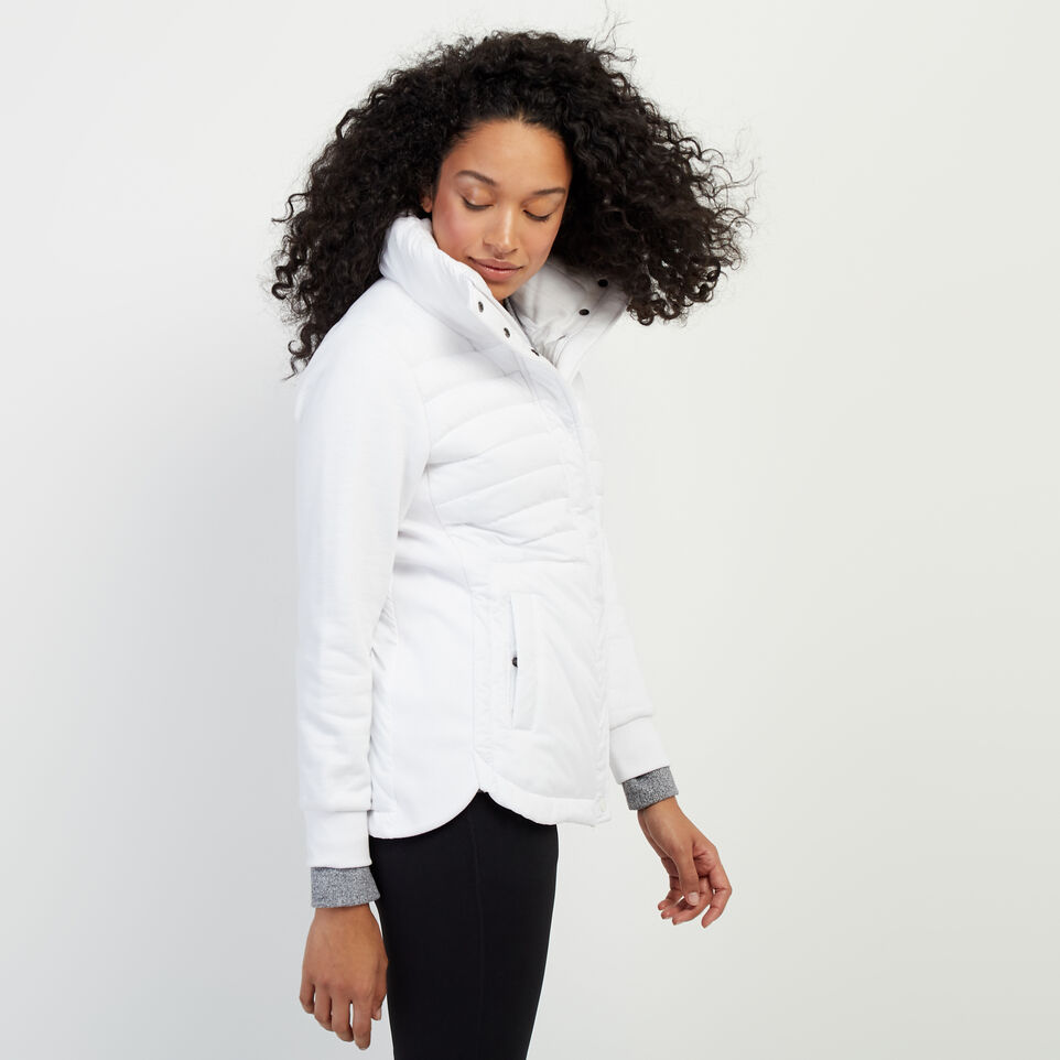 Roots-New For February Journey Collection-Journey Hybrid Jacket-White-C