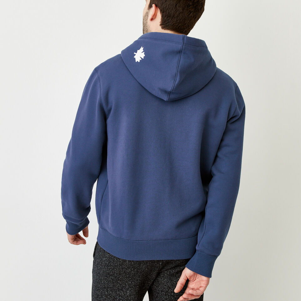 Roots-Men Our Favourite New Arrivals-Original Full Zip Hoody-Sargasso Sea-D