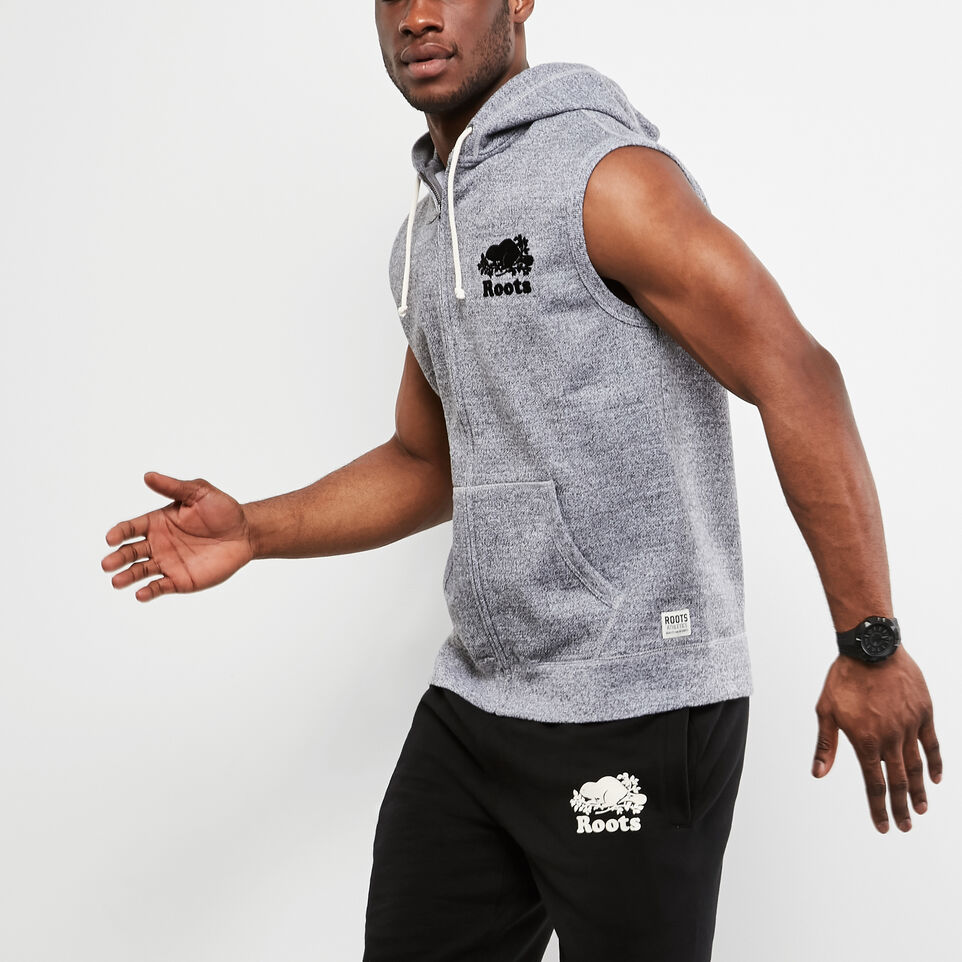 Roots-undefined-Sleeveless Zip Hoody-undefined-B