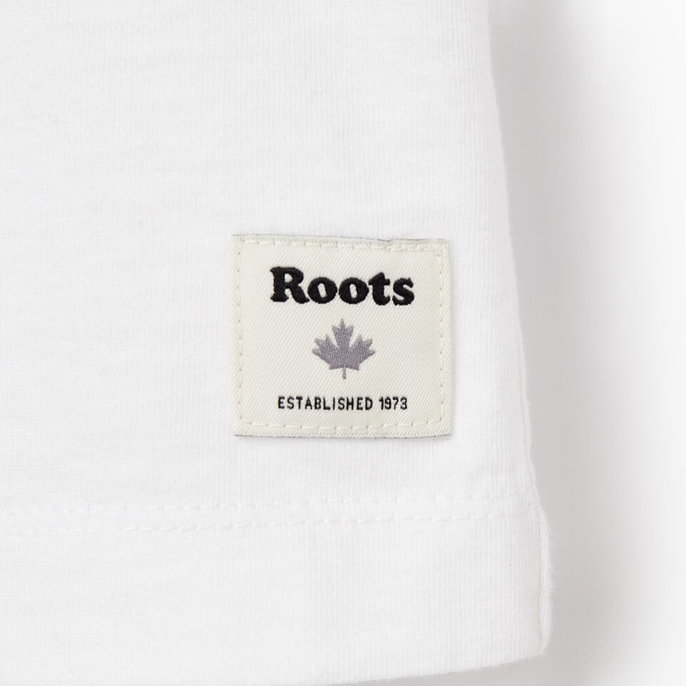 Roots-New For May Women-Womens Spectrum T-shirt-Crisp White-C