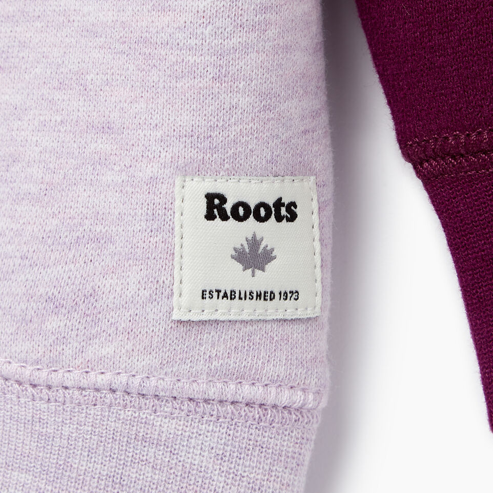 Roots-Sale Kids-Baby Original Crewneck Sweatshirt-Lupine Mix-C