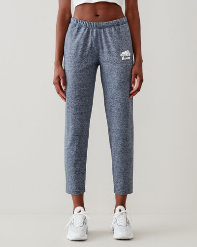 Roots-Sweats Sweatpants-Easy Ankle Sweatpant-Navy Blazer Pepper-A