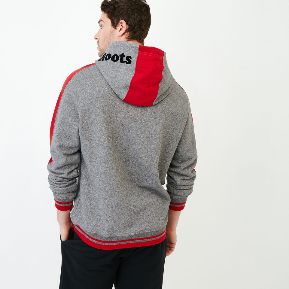 Roots-Men Canada Collection By Roots™-Canada Hoody-Grey Mix Pepper-D