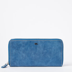 Roots-Leather Wallets-Zip Around Wallet Tribe-Infinity-A