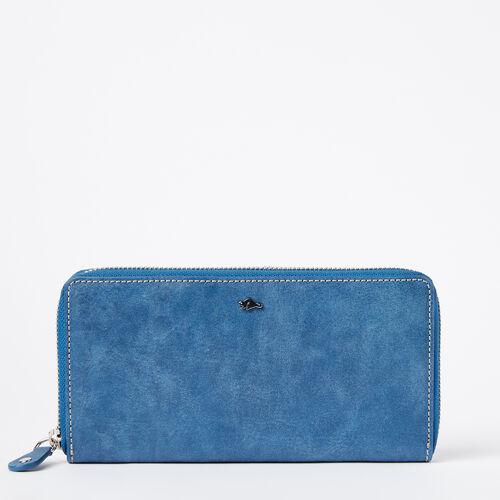 Roots-Women Wallets-Zip Around Wallet Tribe-Infinity-A