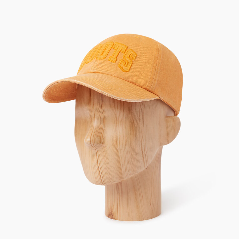 Roots-Men Our Favourite New Arrivals-Strathcona Baseball Cap-Jaffa Orange-B