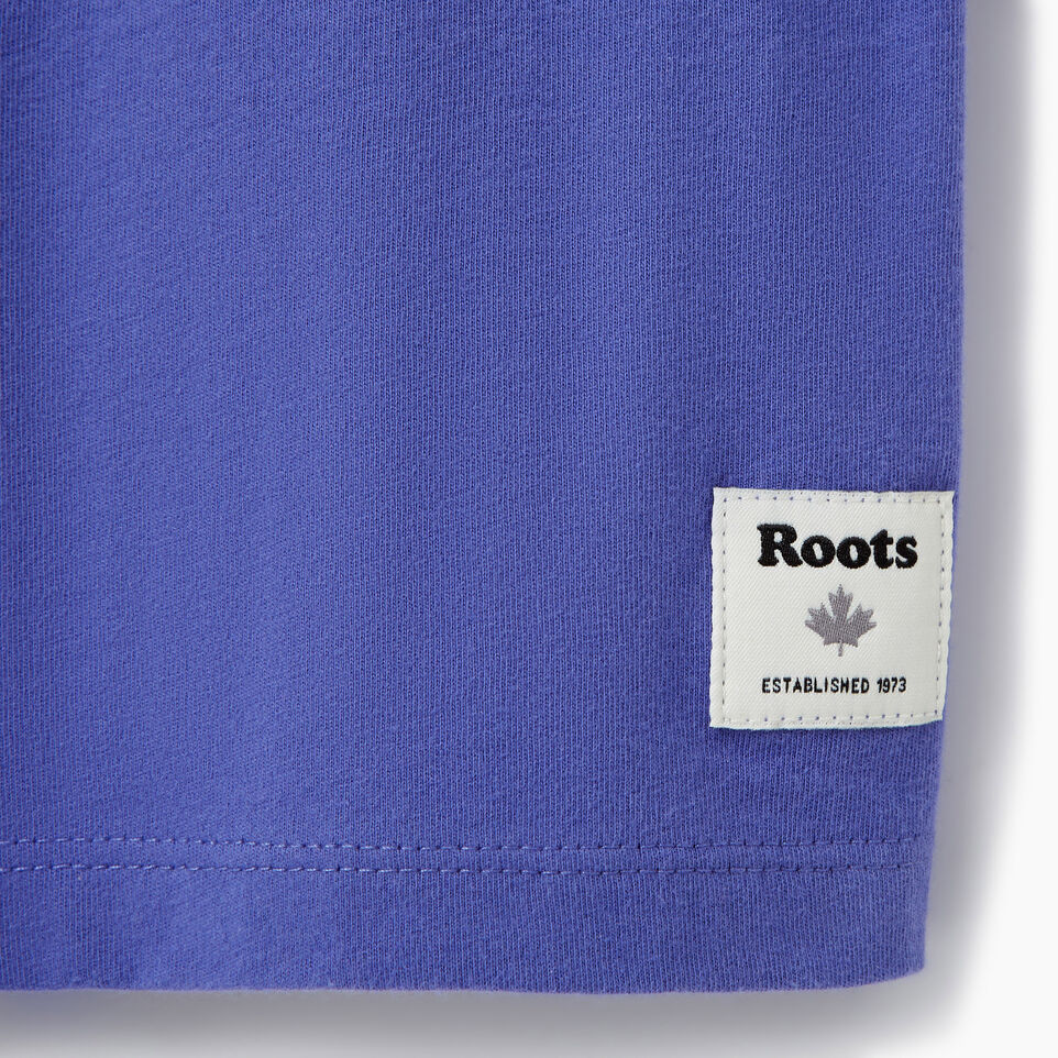 Roots-Kids Our Favourite New Arrivals-Girls Original Cooper Beaver T-shirt-Violet Storm-C