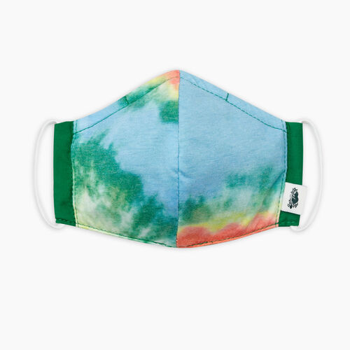 Roots-New For September Roots Reusable Face Masks-Lightweight Tie Dye Reusable Face Mask-Multi-A