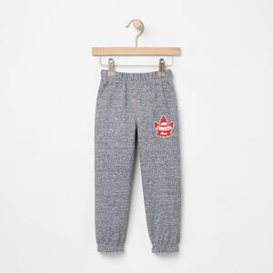 Roots-Kids Canada Collection-Toddler Heritage Canada Slim Sweatpant-Salt & Pepper-A