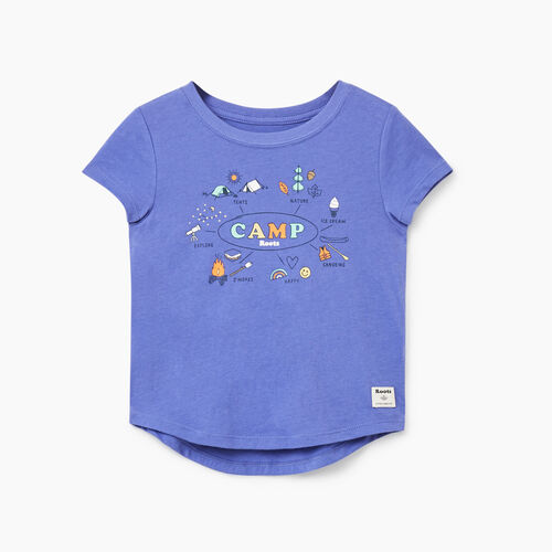 Roots-Sale Toddler-Toddler Roots Camp T-shirt-Violet Storm-A