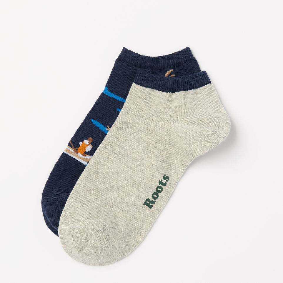 Roots-undefined-Mens Canoe Ped Sock 2 Pack-undefined-D