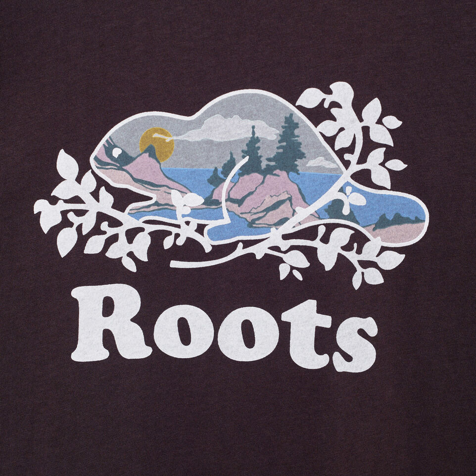 Roots-undefined-Womens Scenic Cooper Beaver T-shirt-undefined-C