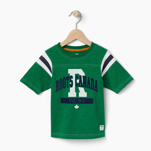Roots-Winter Sale Toddler-Toddler Varsity Top-Verdant Green-A