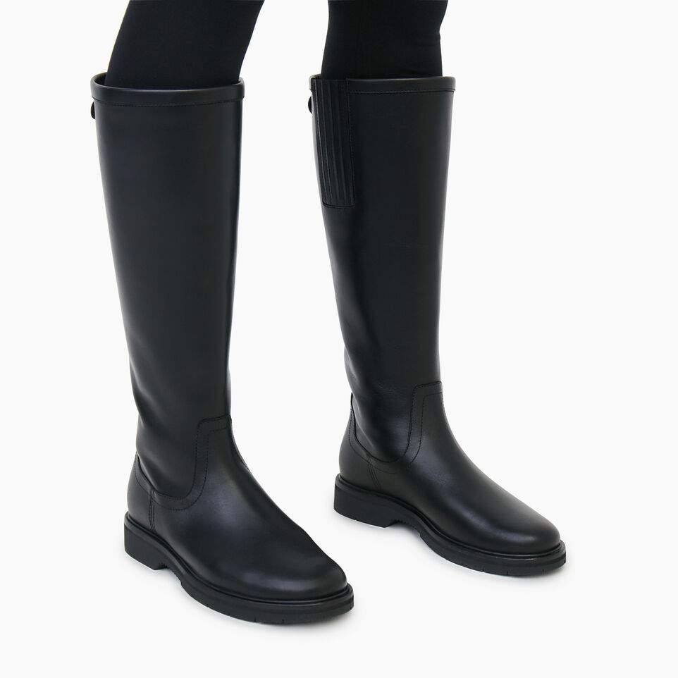 Roots-Women Categories-Womens Riverside Boot-Black-B