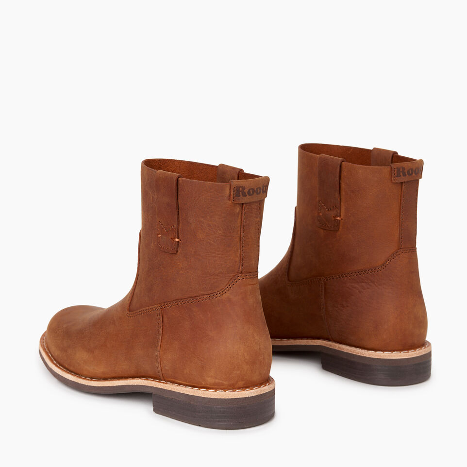 Roots-Women Categories-Womens Riverdale Shorty Boot-Natural-E