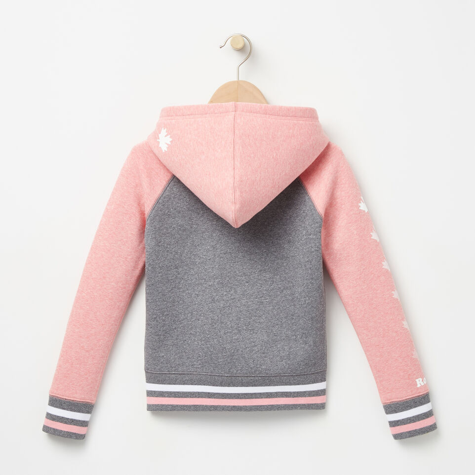 Roots-undefined-Girls Cooper Canada Full Zip Hoody-undefined-B