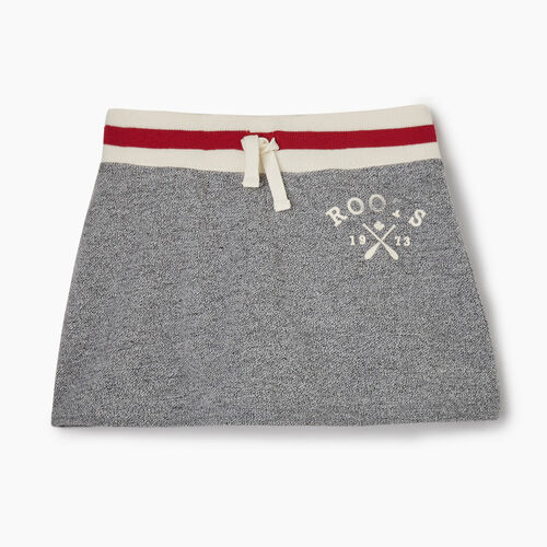 Roots-Kids New Arrivals-Toddler Cabin Skort-Light Salt & Pepper-A