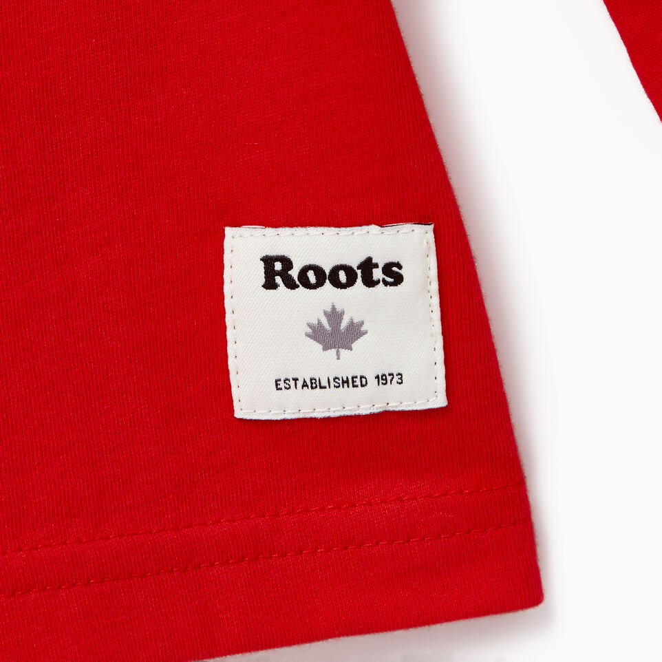 Roots-Kids Our Favourite New Arrivals-Boys Sportsmas Multi T-shirt-Racing Red-C