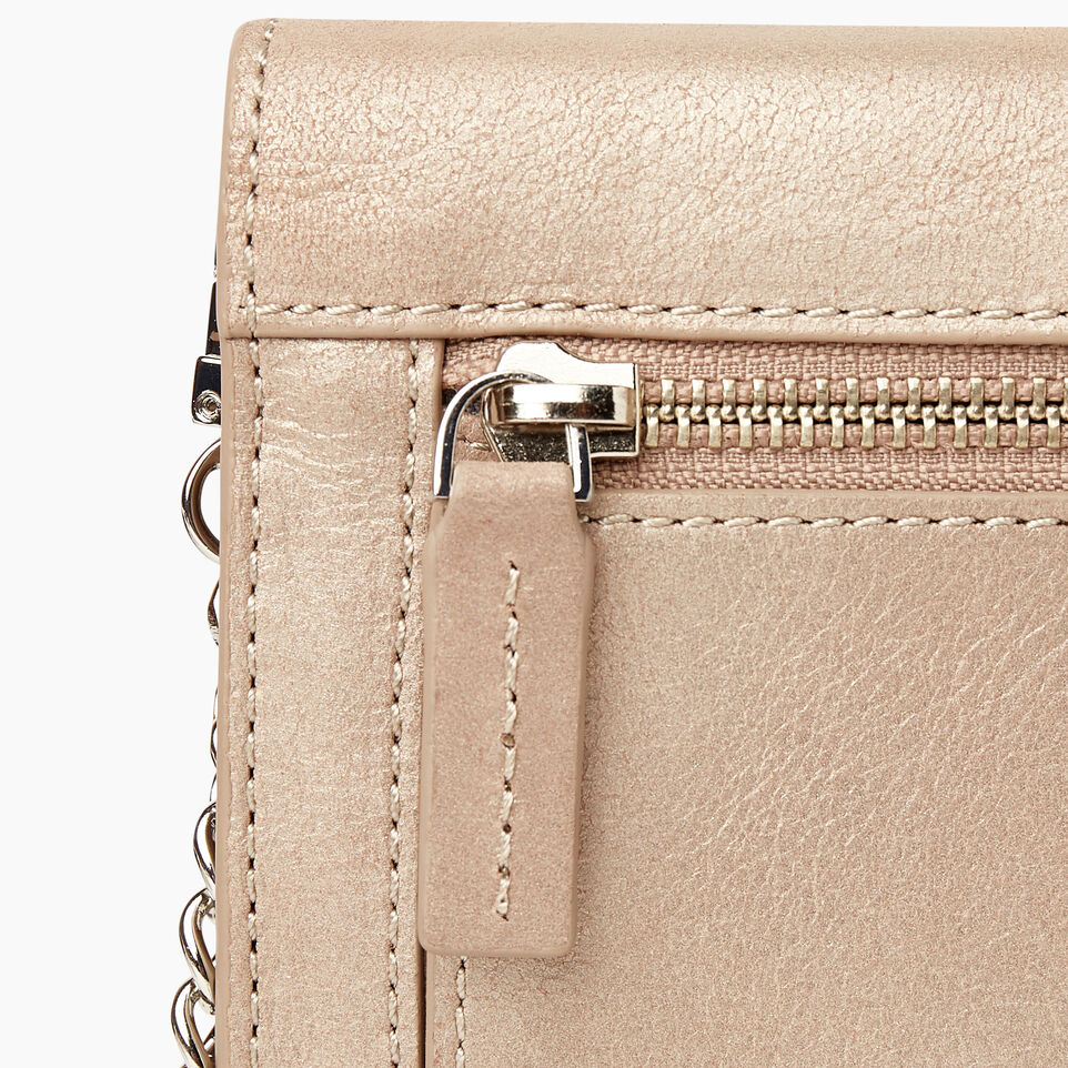 Roots-Women Categories-Sussex Wallet Bag-Champagne-F
