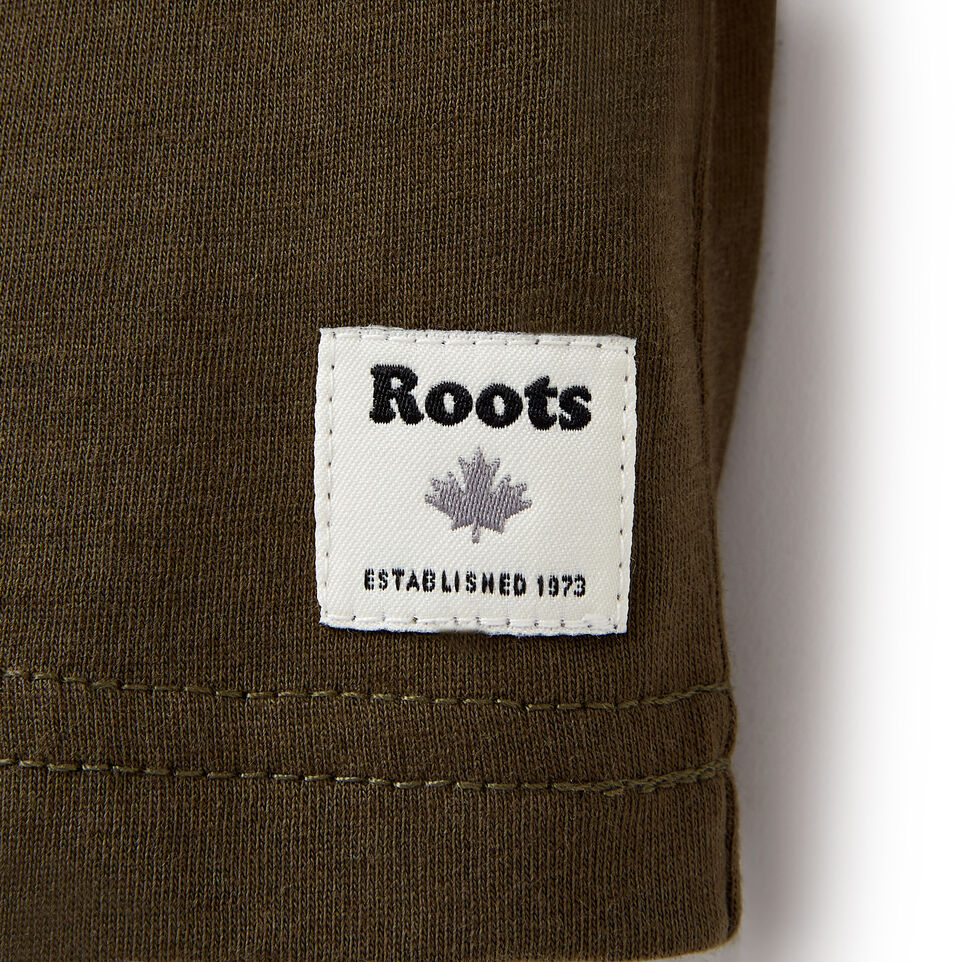 Roots-Sale Kids-Toddler Roots Classic T-shirt-Fatigue-D