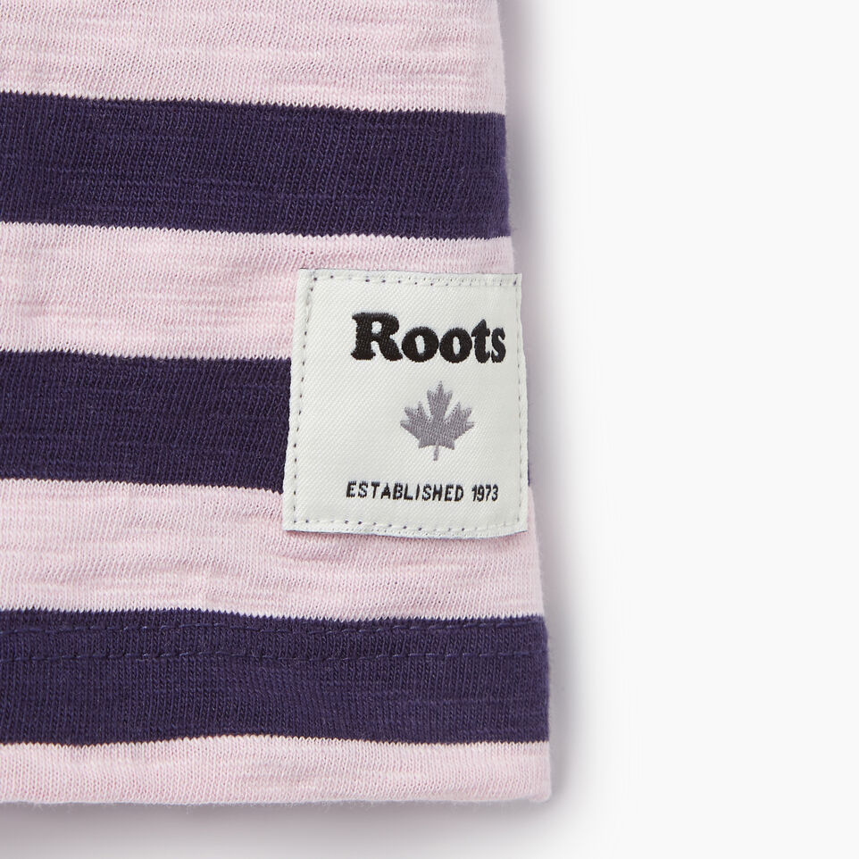 Roots-Kids Categories-Girls Alumni Boxy Top-Eclipse-C