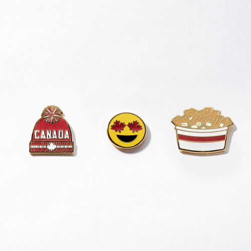 Roots-Women General Store-Canada Toque Pin Set 3 Pack-Assorted-A