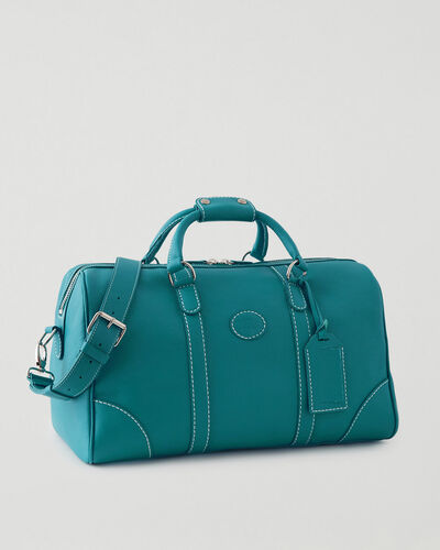 Roots-Leather Leather Bags-Small Banff Bag Cervino-Blue Lagoon-A