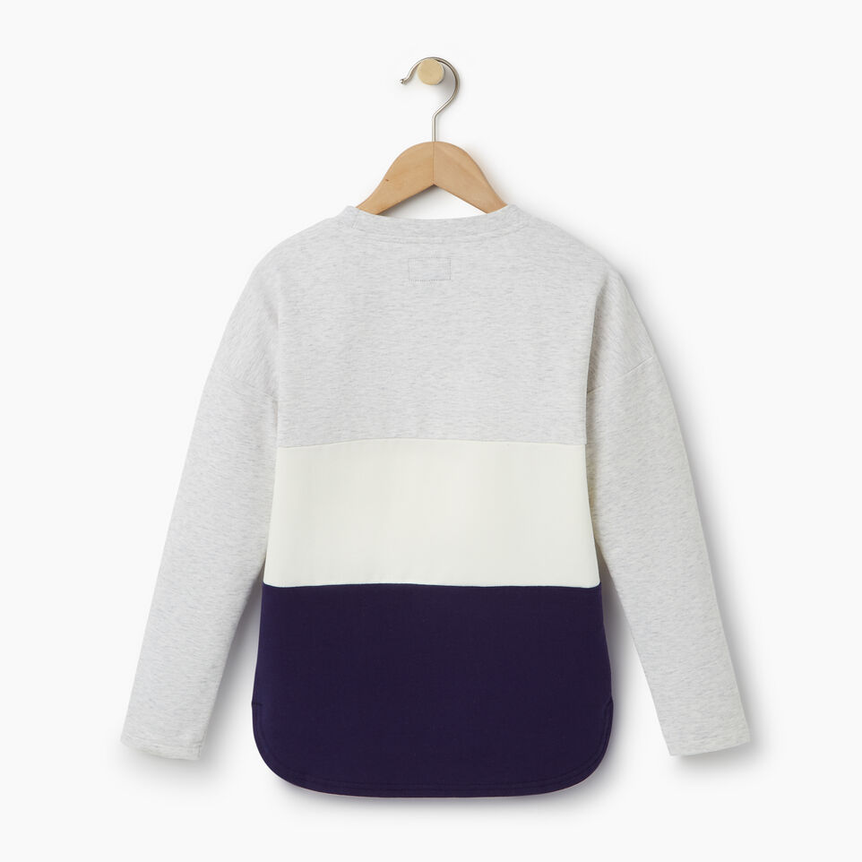 Roots-undefined-Girls Colour Block Sweatshirt-undefined-B