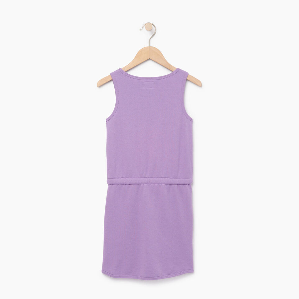 Roots-Kids Our Favourite New Arrivals-Girls Cooper Beaver Tank Dress-Hyacinth-B