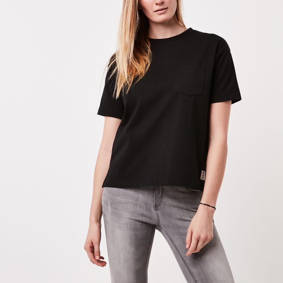 Roots-Kootenay Jersey Pocket T-shirt