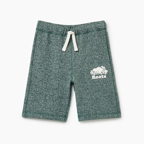 Roots-Kids Bottoms-Boys Original Short-Hunter Green Pepper-A