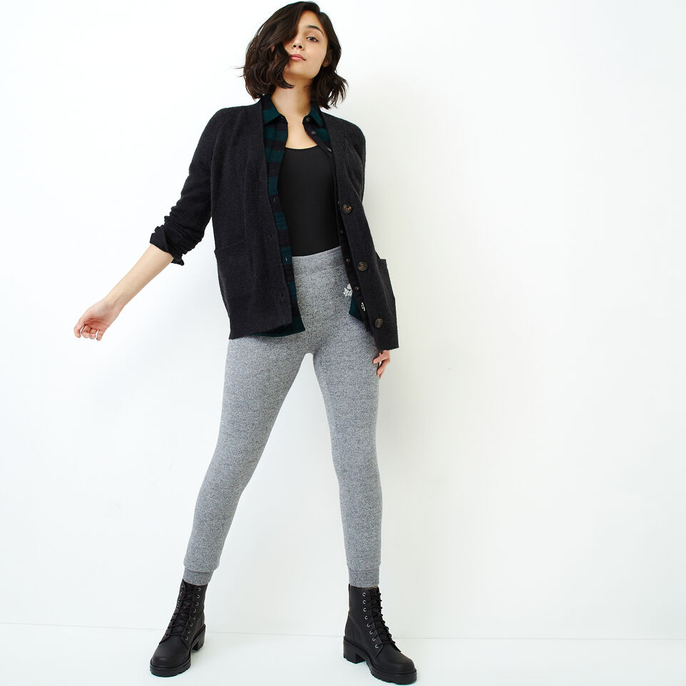 Roots-Women Our Favourite New Arrivals-Hemlock Button Cardigan-Black Mix-B