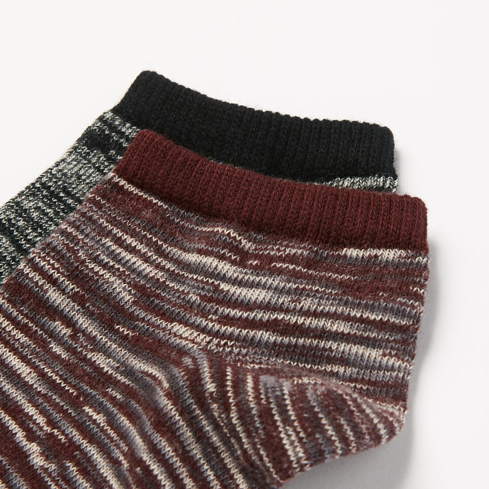 Roots-undefined-Mens Space Dye Camp Ped Sock-undefined-B