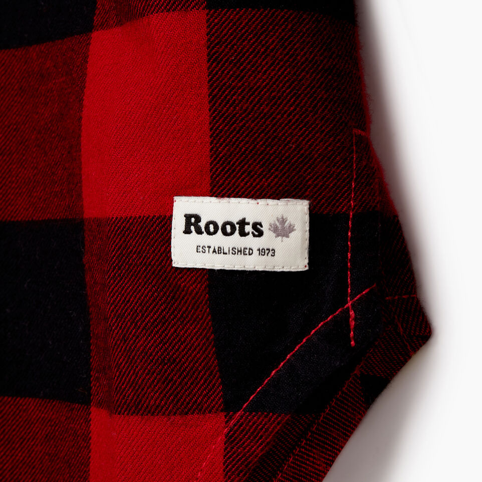 Roots-undefined-Girls Park Plaid Shirt-undefined-D