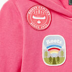 Roots-Kids Our Favourite New Arrivals-Girls Patches Full Zip Hoody-Azalea Pink-D