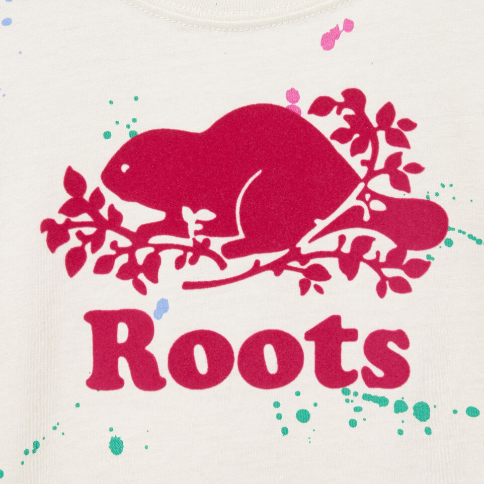 Roots-Kids Our Favourite New Arrivals-Toddler Splatter Aop T-shirt-Cannoli Cream-D