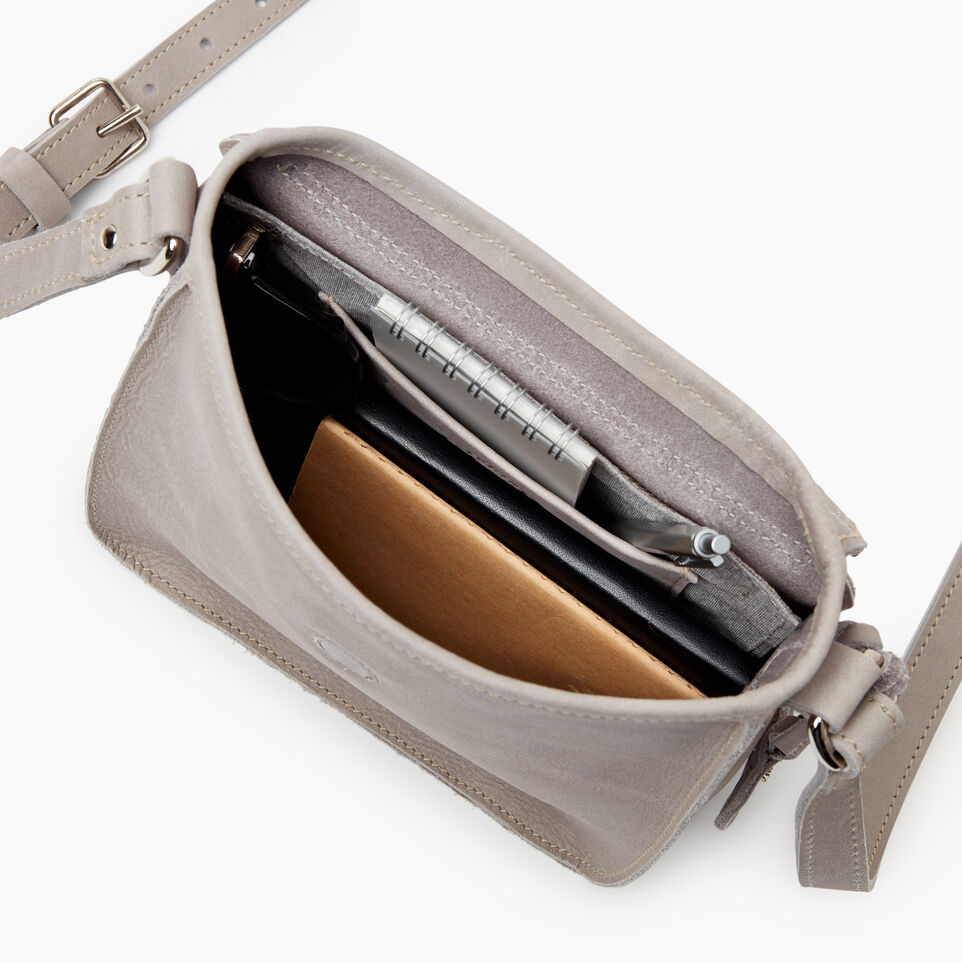 Roots-Leather New Arrivals-Canmore Crossbody Tribe-Sterling Grey-D