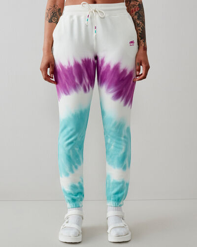 Roots-Sweats Sweatsuit Sets-Camp Tie Dye Sweatpant-Egret-A