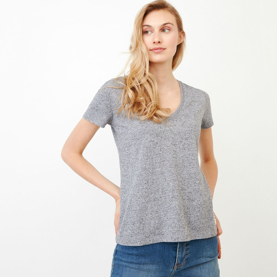 Roots-undefined-Pepper V Neck T-shirt-undefined-A
