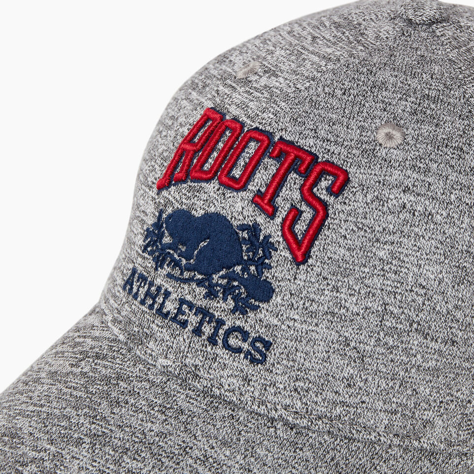Roots-New For March Rba Collection-Heritage RBA Baseball Cap-Salt & Pepper-D