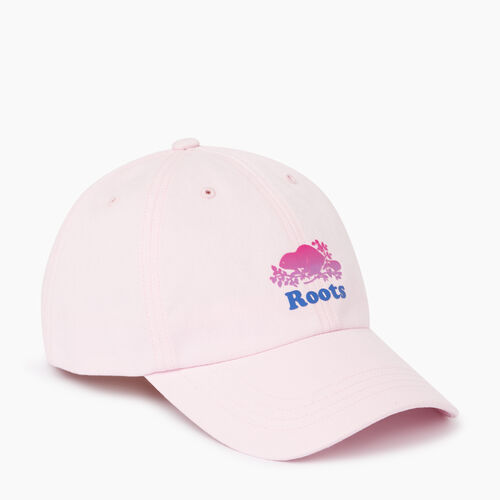 Roots-Women Categories-Cooper Chroma Baseball Cap-Cradle Pink-A