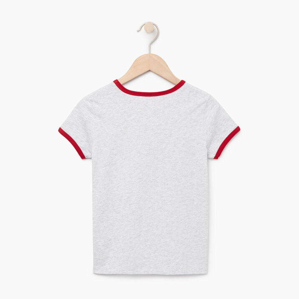 Roots-undefined-T-shirt Canadian Girl pour filles-undefined-B