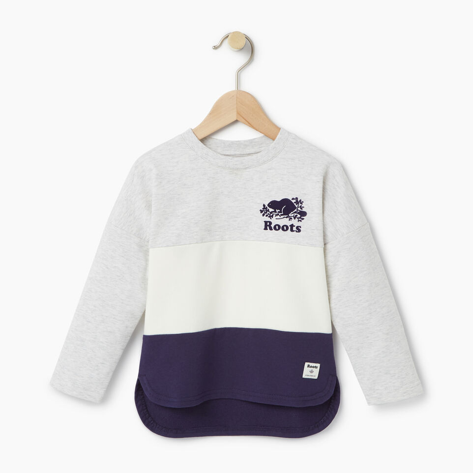 Roots-undefined-Toddler Colour Block Sweatshirt-undefined-A