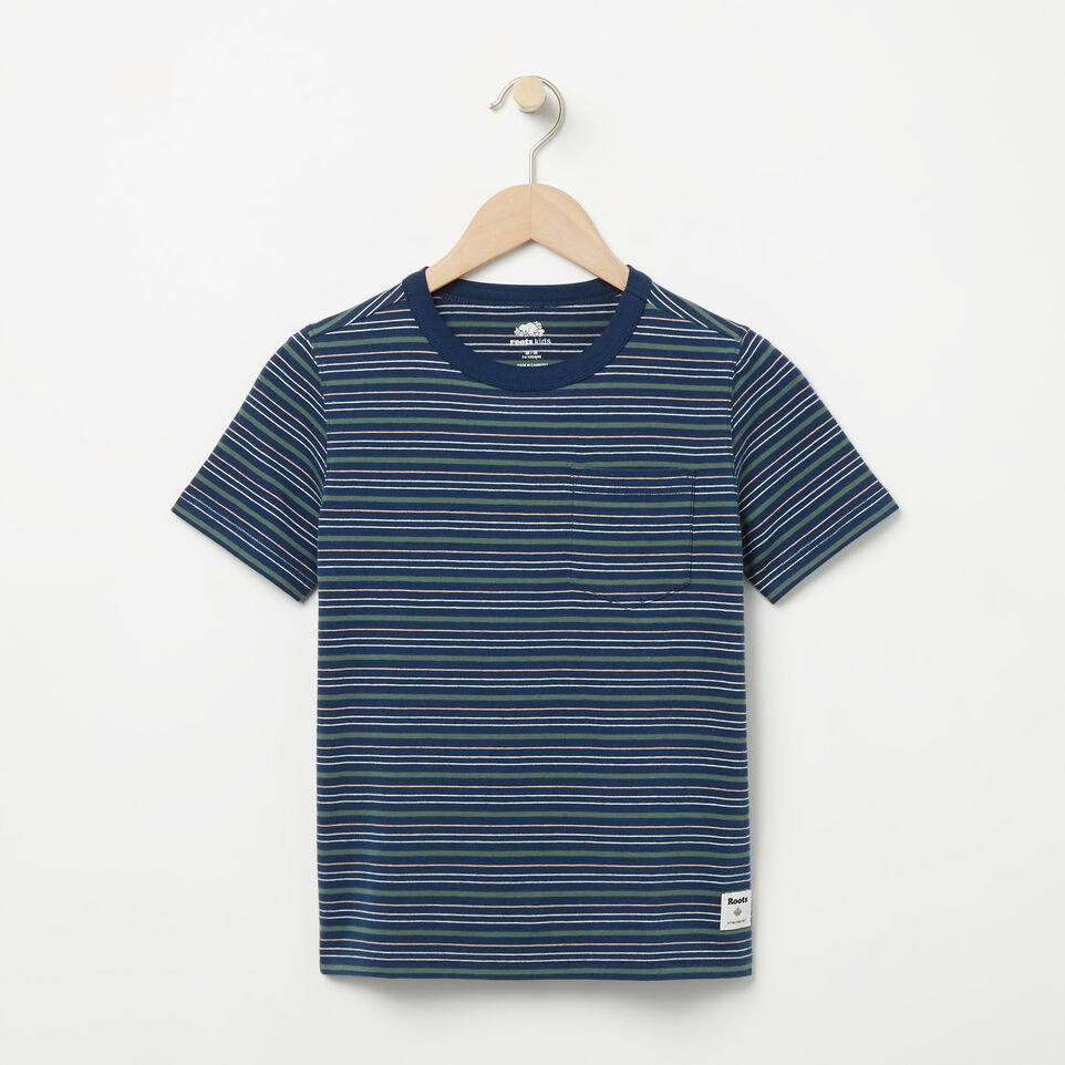 Roots-undefined-Boys Striped Ringer Top-undefined-A