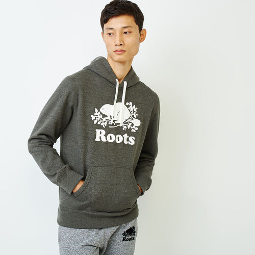 Roots-Men Categories-Cooper Beaver Hoody-Loden Pepper-A